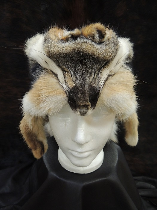 Grey Fox Mountain Man Hat