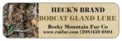 Heck's Bobcat Gland Lure