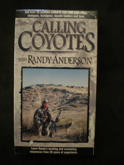 Calling Coyotes By: Randy Anderson #555