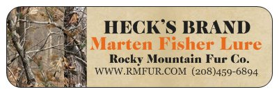 Heck's Marten Fisher Lure