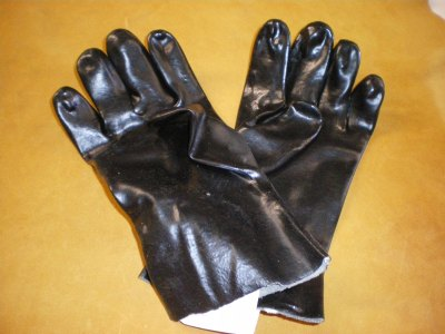Rubber Chemical Gloves